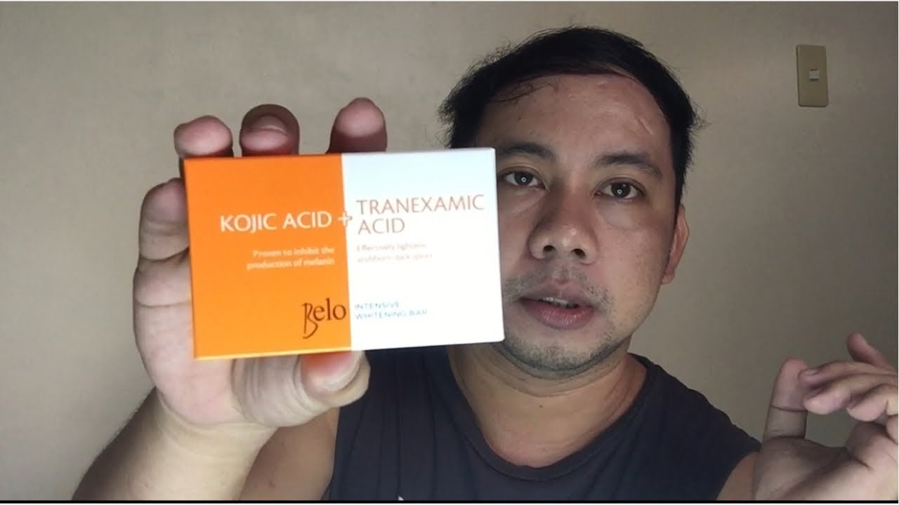 Belo Kojic soap/ Best for dark spot and pimples scar removal
