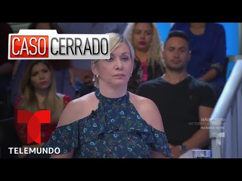 Pastel Amargo 👰🎂😈 | Caso Cerrado | Telemundo