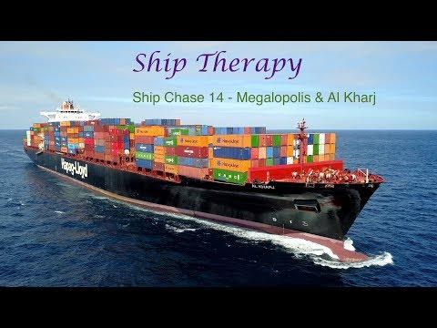 Ship Chase 14 - Megalopolis & Al Kharj - opposing movements - Mavic Pro 4K