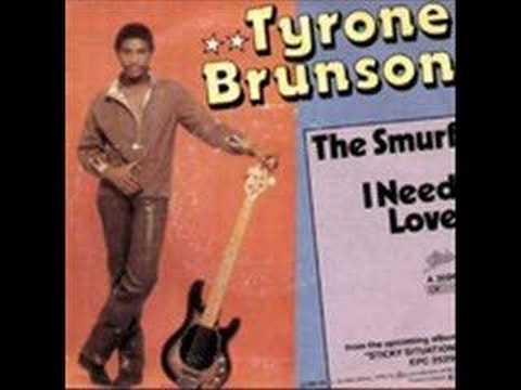 TYRONE BRUNSON-THE SMURF