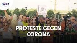 Vor Ort auf der Demo für Grundrechte | Zur Sache Baden-Württemberg