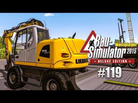 Bau-Simulator 2015 Multiplayer #119 - Bürgermeisters YACHT verladen! CONSTRUCTION SIMULATOR Deluxe |