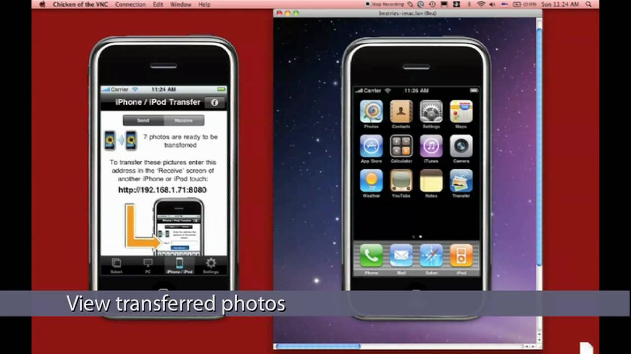 transfer photos from one iphone to another youtube