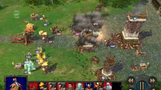 Heroes of Might and Magic V Tribes of the East Final Battle