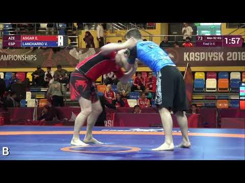 BRONZE Men - 92 kg: E. ASGAR (AZE) v. V. LANCHARRO (ESP)