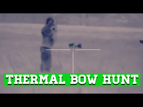 BOWHUNTING HOGS   With Thermal Night Vision