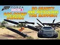 Forza Horizon 3 - INSANE TIRE SIZE MOD! Flying 3 Wheeler & 500,000HP Gurkha!