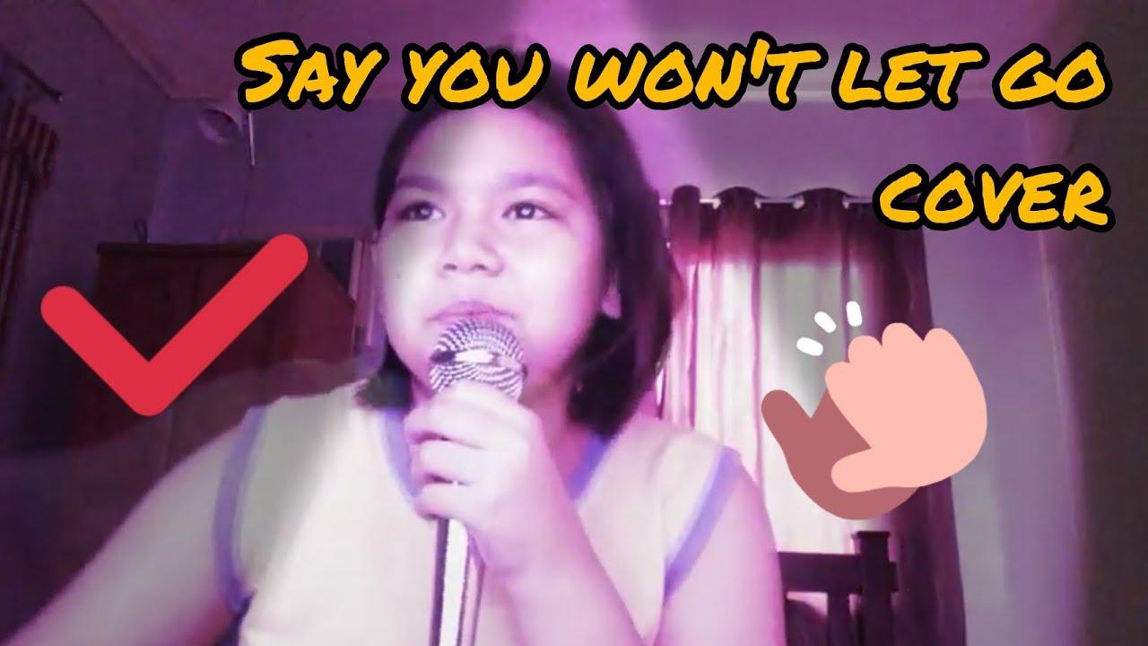 Ariella Ferrer say you won't let go coverariella ferrer - youtube