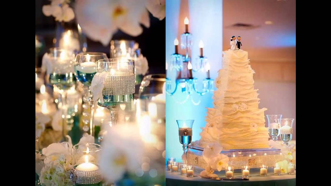 Turquoise And White Wedding Decorations Cool Turquoise Wedding Decorations Youtube