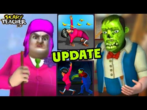 SCARY TEACHER 3D - Peck Uliar Circumstances + Scary Tale Ending- Special Chapter - New Update