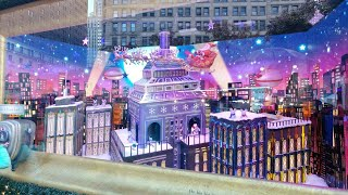 Macy's 2017 Christmas Window Display New York USA