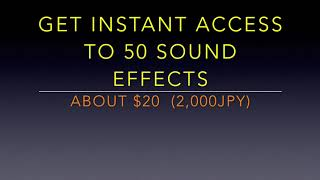 Download 50 Sound Effects for DJ MIX !