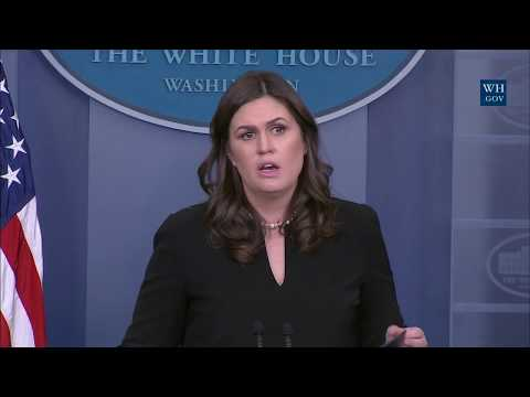 12/12/17: White House Press Briefing