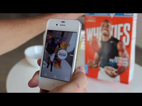Blipp Your Wheaties Box To Take Your Photo With NFL Star Adrian Peterson