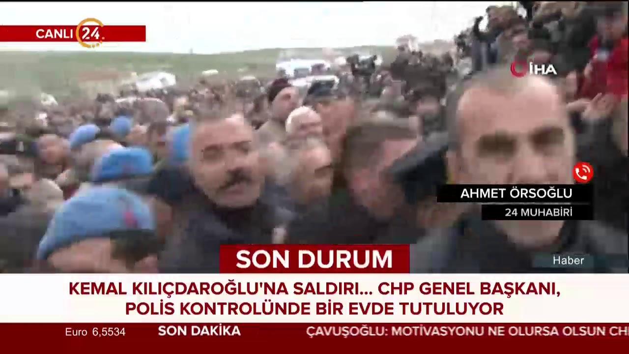 Kemal Kılıçdaroğlu'na şehit cenazesi sonrasında saldırı düzenlendi!