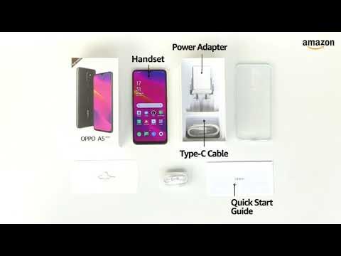 New mobile OPPO A5 2020 Dazzling White, 4GB RAM, 64GB Storage