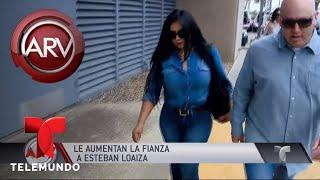 Se complica la situación legal de Esteban Loaiza | Al Rojo Vivo | Telemundo