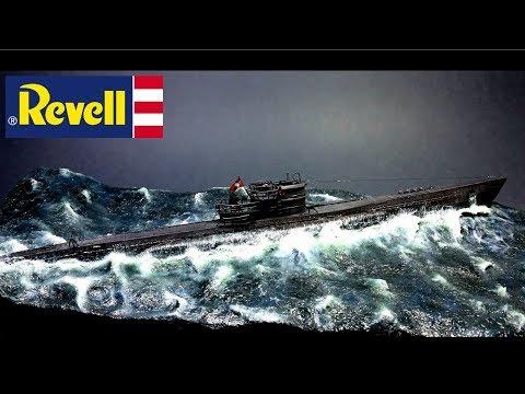 FULL VIDEO BUILD REVELL VIIC/41 GERMAN SUBMARINE