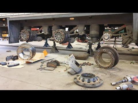 Замена колодок и дисков,мосты SAF/Schmitz Cargobull