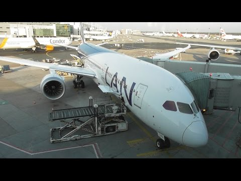 LATAM Chile Boeing 787-9 Dreamliner | Madrid to Frankfurt *FULL FLIGHT*