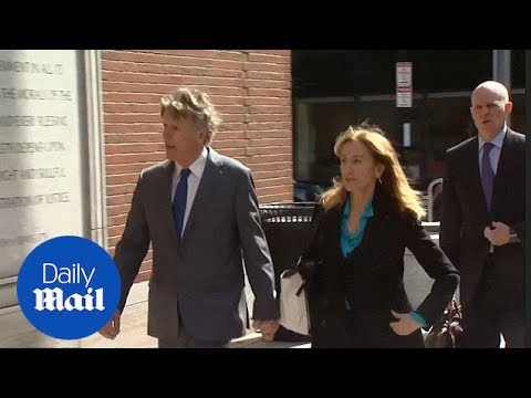 Felicity Huffman, Lori Loughlin, other parents charged in admissions scheme appear in federal court in Boston