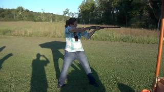 Girl VS .458 Magnum Winchester Elephant Rifle