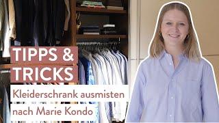 Kleiderschrank ausmisten [nach Marie Kondo] | Tipps & Tricks | Westwing