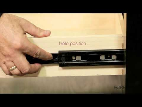 center mount slide how to separate drawer slide from c How to Build a Cabinet with Doors and Shelves How to Build Door Wood Bathroom