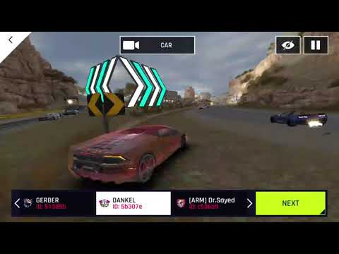 Asphalt 9 legends: Hackers caught in Multiplayer ID: 5b307e
