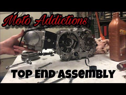 The Most Entertaining Top End Rebuild Ever!!! (Honda Atc 70) | Moto Addictions