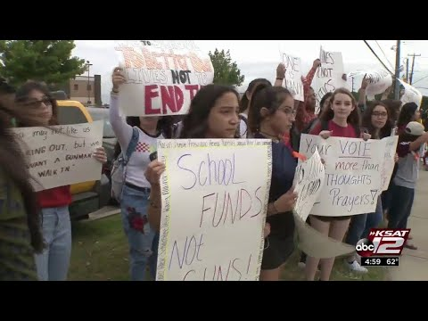 National movement draws San Antonio students out of classrooms