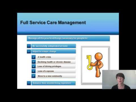 What Is Geriatric Care Management And Aging Life Care Management