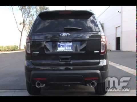2017 Ford Explorer Sport Cat Back Exhaust Eco Boost Stainless Steel Magnaflow 15218