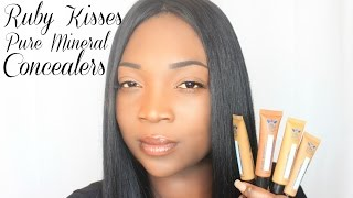 Ruby Kisses Pure Mineral Concealers