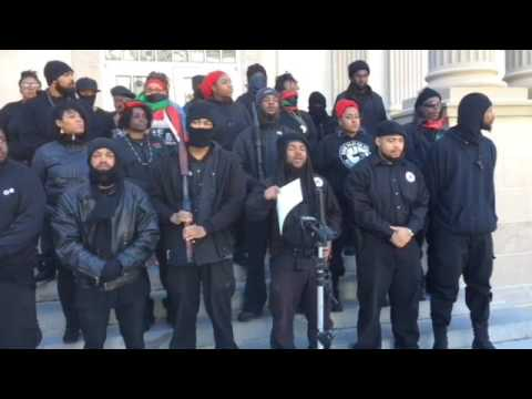 Revolutionary Black Panther Party Founder Dr. Alli Muhammad