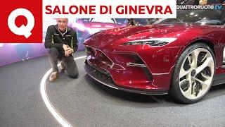 A Ginevra con Paolo Massai: ecco la DaVinci firmata Italdesign