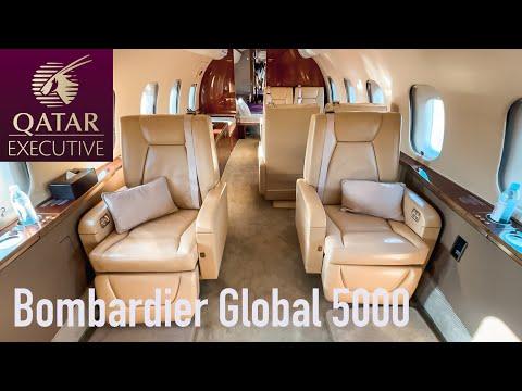 Qatar Executive Bombardier Global 5000 Flight Review | Aviation Geeks