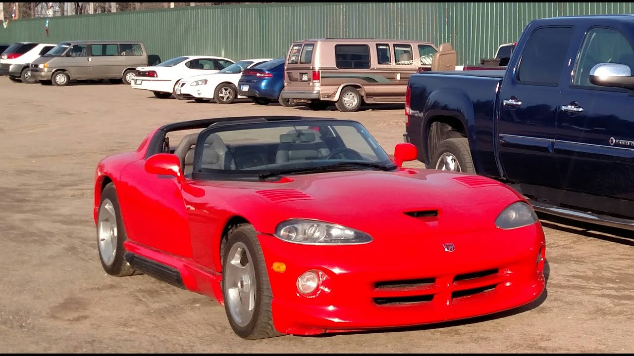 1993 Dodge Viper - YouTube