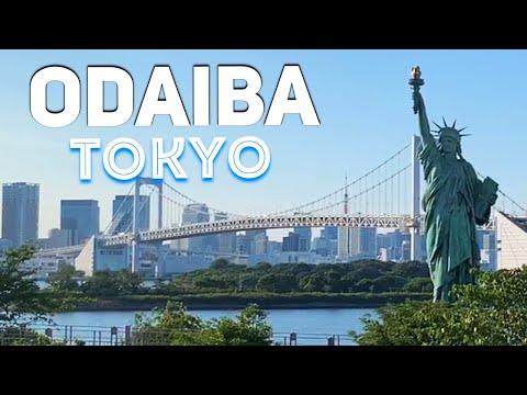 Tokyo's Beach & the Statue of Liberty | ODAIBA