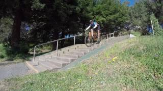 Old School Fully Rigid Mountain Bike