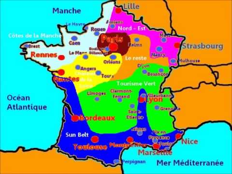 Carte France   Leçon 1 La géographie de la France   YouTube
