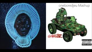 Bone Eastwood - Childish Gambino vs. Gorillaz (Mashup)