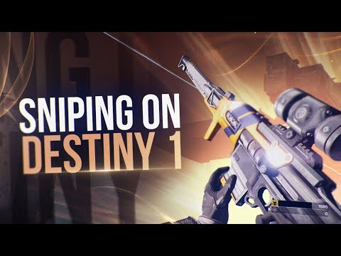 My Return To Destiny 1 Sniping!
