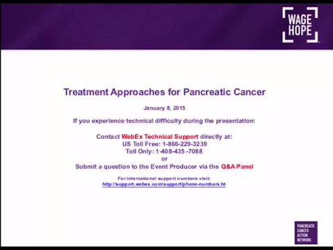 Treatment Approaches for Pancreatic Cancer