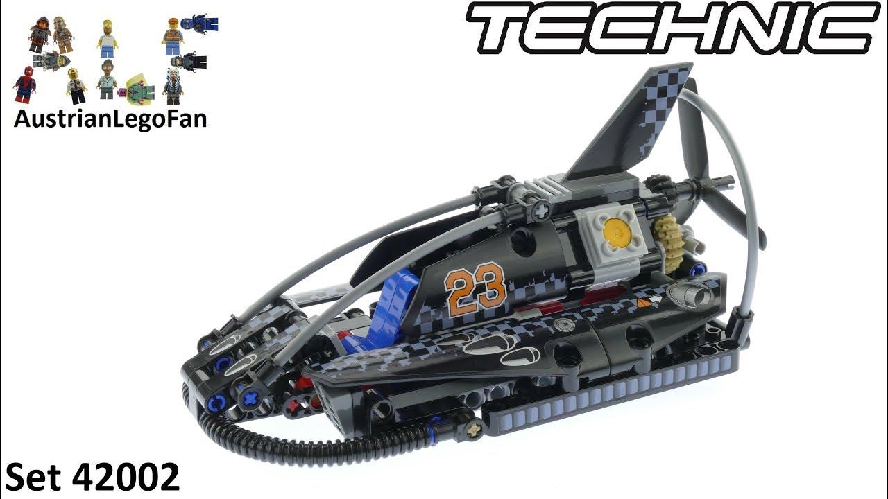 Lego Technic Hovercraft - Lego Technic 42002 Speed Build - YouTube
