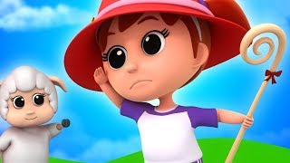 Little Bo Peep | Nursery Rhymes | Song For Children | Baby Rhyme | Kids Music