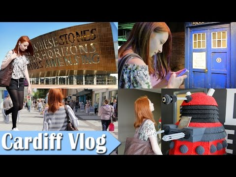Cardiff Vlog, Dr Who Experience, St. David's Shopping Centre, Cardiff Bay | NiliPOD