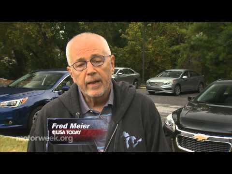MotorWeek   Comparison Test: Mid-Size Sedan Challenge