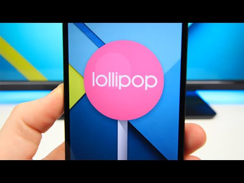 Android 5.0 Lollipop on Nexus 5