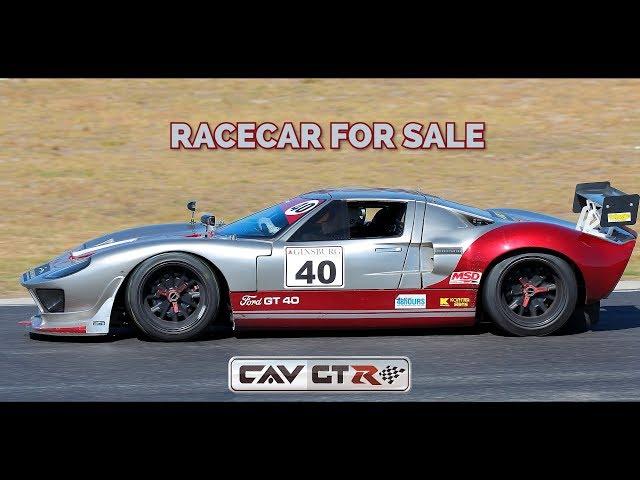 Race Car For Sale >> Ford Gt40 Recreation Cav Gtr Race Car For Sale